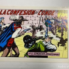 Tebeos: EL ESPADACHIN ENMASCARADO. Nº 69.- LA CONFESION DEL CONDE. EDITORA VALENCIANA. Lote 262456945