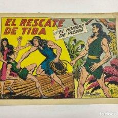 Tebeos: EL HOMBRE DE PIEDRA. Nº 209.- EL RESCATE DE TIBA. EDITORIAL VALENCIANA. Lote 262603895