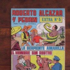Tebeos: ROBERTO ALCAZAR Y PEDRIN EXTRA Nº 5 EDITORIAL VALENCIANA. Lote 262637390