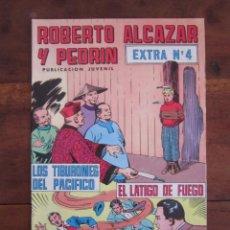 Tebeos: ROBERTO ALCAZAR Y PEDRIN EXTRA Nº 4 EDITORIAL VALENCIANA MBE. Lote 262637450
