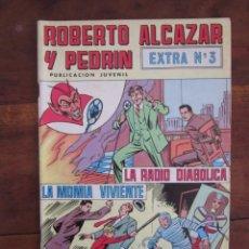 Tebeos: ROBERTO ALCAZAR Y PEDRIN EXTRA Nº 3 EDITORIAL VALENCIANA. Lote 262637515