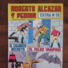 Tebeos: ROBERTO ALCAZAR Y PEDRIN EXTRA Nº 15 EDITORIAL VALENCIANA. Lote 262637655