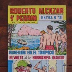 Tebeos: ROBERTO ALCAZAR Y PEDRIN EXTRA Nº 13 EDITORIAL VALENCIANA. Lote 262637785