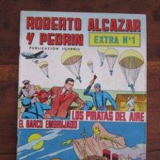 Tebeos: ROBERTO ALCAZAR Y PEDRIN EXTRA Nº 1 EDITORIAL VALENCIANA. Lote 262638020