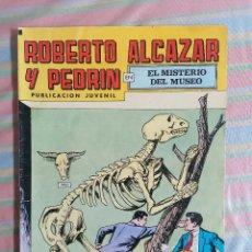 Tebeos: ROBERTO ALCAZAR Y PEDRIN EL MISTERIO DEL MUSEO Nº 186 2ª EPOCA EDITORIAL VALENCIANA. Lote 263018060