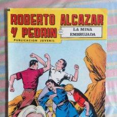 Tebeos: ROBERTO ALCAZAR Y PEDRIN LA MINA EMBRUJADA Nº 198 2ª EPOCA EDITORIAL VALENCIANA. Lote 263018355