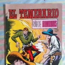 Tebeos: EL TEMERARIO RIÑA DE BANDIDOS Nº 4 COLOSOS DEL COMIC EDITORIAL VALENCIANA. Lote 263019030
