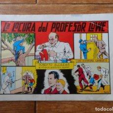 Tebeos: ROBERTO ALCAZAR Y PEDRIN.Nº 32. LA LOCURA DEL PROFESOR LOWE. EDITORIAL VALENCIANA. Lote 263040220