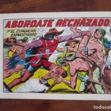 Tebeos: EL ESPADACHÍN ENMASCARADO Nº 41. ABORDAJE RECHAZADO. 2ª ED. REEDICIÓN AÑOS 80. EDITORIAL VALENCIANA. Lote 263124565