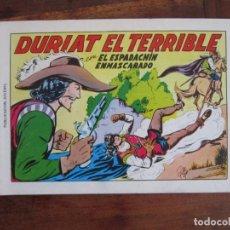 Tebeos: EL ESPADACHÍN ENMASCARADO Nº 7. DURIAT EL TERRIBLE. 2ª ED. REEDICIÓN AÑOS 80. EDITORIAL VALENCIANA. Lote 263124985