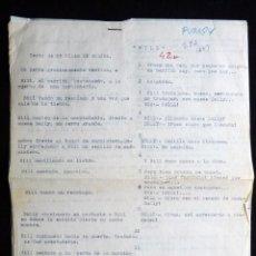 """Tebeos: GUIÓN ORIGINAL Mª PILAR DE MOLINA PÉREZ, EDITORIAL VALENCIANA, AÑOS 50. PUMBY EN """"BILL"""". Lote 263244165"""