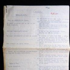 """Tebeos: GUIÓN ORIGINAL DE MAPY - Mª PILAR DE MOLINA PÉREZ -, EDITORIAL VALENCIANA, AÑOS 50. """"TOM"""", PUMBY. Lote 263244255"""