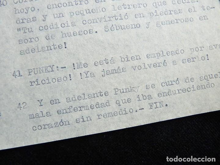 """Tebeos: GUIÓN ORIGINAL DE PILI - Mª PILAR DE MOLINA PÉREZ -, EDITORIAL VALENCIANA, AÑOS 50. """"EL CODICIOSO"""", - Foto 3 - 263244380"""