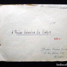 Tebeos: GUIÓN ORIGINAL DE JOSEFINA GINER, EDITORIAL VALENCIANA, AÑOS 50. ¡QUISO DÁRSELAS DE LISTO!, PUMBY. Lote 263244485