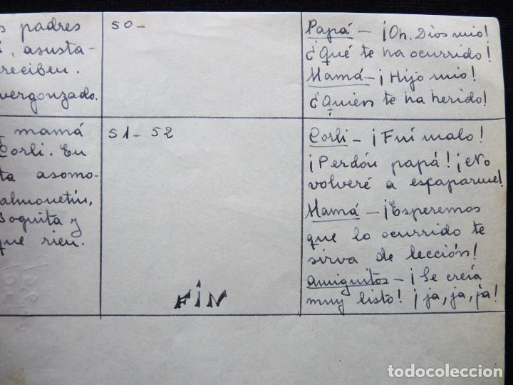 Tebeos: GUIÓN ORIGINAL DE JOSEFINA GINER, EDITORIAL VALENCIANA, AÑOS 50. ¡QUISO DÁRSELAS DE LISTO!, PUMBY - Foto 3 - 263244485
