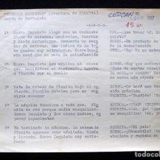 """Tebeos: GUIÓN ORIGINAL DE VICENTE TORTAJADA LÓPEZ, EDITORIAL VALENCIANA, 1962. PLUMINTA EN """"TIEMPOS MODERNOS. Lote 263244545"""