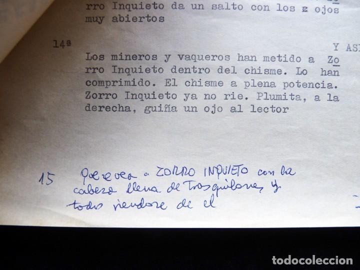 """Tebeos: GUIÓN ORIGINAL DE VICENTE TORTAJADA LÓPEZ, EDITORIAL VALENCIANA, 1962. PLUMINTA EN """"TIEMPOS MODERNOS - Foto 3 - 263244545"""