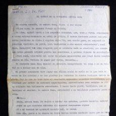 Tebeos: GUIÓN ORIGINAL DE MANUEL SORIA, EDITORIAL VALENCIANA, 1964. EL ORFEÓN DE LA BOMDADOSA SEÑORA RANA. P. Lote 263245185