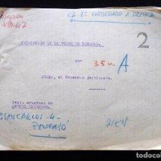 Tebeos: GUIÓN ORIGINAL DE ANDRES CARRERES, EDITORIAL VALENCIANA, 1947. DRAKE, EL CORSARIO JUSTICIERO. FIRMA. Lote 263246200