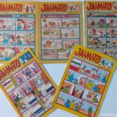 BDs: LOTE DE 5 COMICS JAIMITO, REVISTA PARA LOS JÓVENES, EDITORIAL VALENCIANA. AÑOS 60. BUEN ESTADO.. Lote 263880595