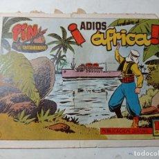 Tebeos: ORIGINAL NO COPIA PIN EL TROTAMUNDOS ADIÓS ÁFRICA 48 HISPANO AMERICANA AÑOS 50 60. Lote 263908485