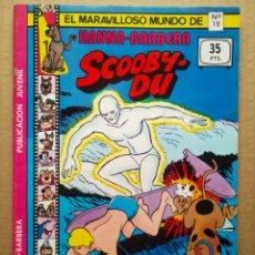 Tebeos: EL MARAVILLOSO MUNDO DE HANNA-BARBERA N°18: SCOOBY-DU / MISTERIO EN MALIBÚ (VALENCIANA). SCOOBY DOO.. Lote 264829899