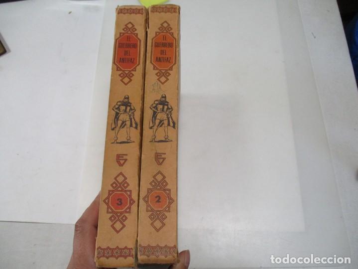 Tebeos: MANUEL GAGO El guerrero del antifaz Tomos II y III W7198 - Foto 2 - 265156594