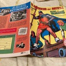 Livros de Banda Desenhada: EL GUERRERO DEL ANTIFAZ EXTRA DE VACACIONES 1973 - EDITORIAL VALENCIANA 1973 CON POSTER. Lote 265339274