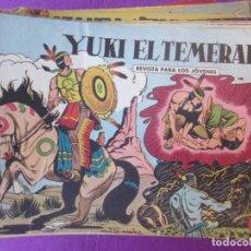 Tebeos: LOTE 99 TEBEOS YUKI EL TEMERARIO ED. VALENCIANA ORIGINAL 1 EXTRAORDINARIO VER MAS FOTOS. Lote 265474109