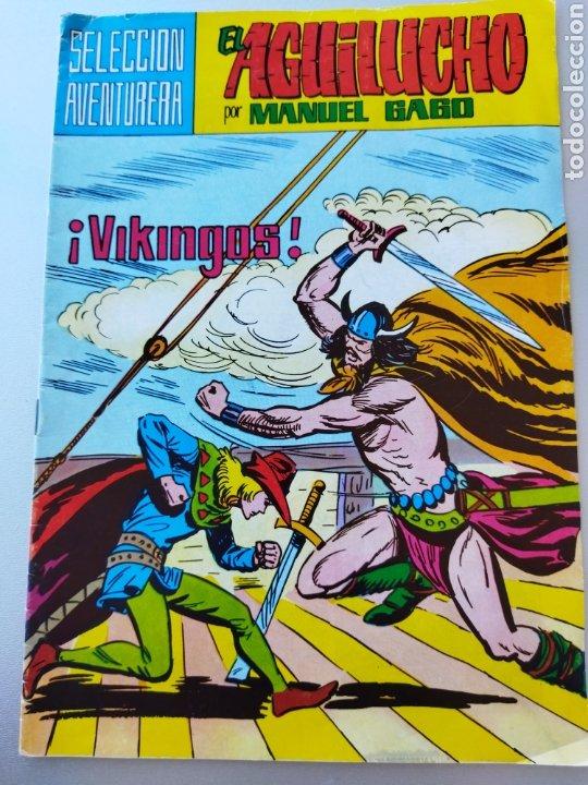 Tebeos: 3 Aguilucho año 1982.Num.35-39-40 - Foto 4 - 265902238