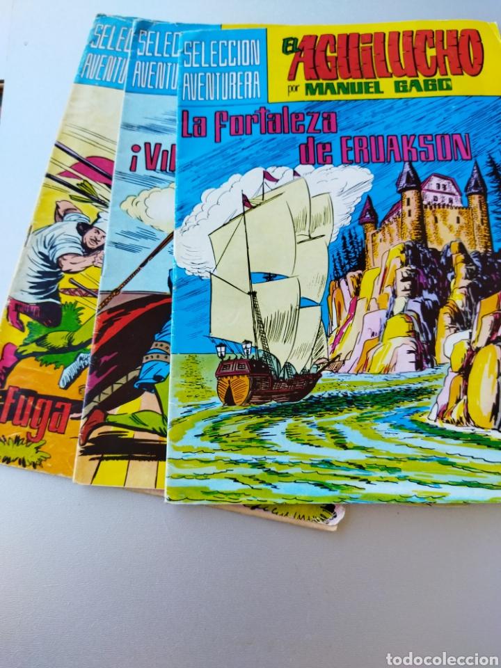 3 AGUILUCHO AÑO 1982.NUM.35-39-40 (Tebeos y Comics - Valenciana - Otros)