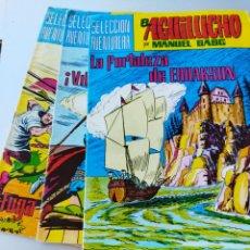 Tebeos: 3 AGUILUCHO AÑO 1982.NUM.35-39-40. Lote 265902238