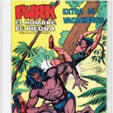Tebeos: ARCHIVO * PURK EL HOMBRE DE PIEDRA * EXTRA DE VACACIONES,1974 * VALENCIANA *. Lote 266155363