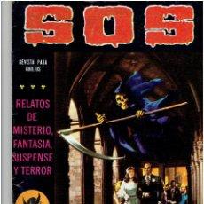 Tebeos: ARCHIVO * SOS, RELATOS DE MISTERIO, FANTASIA, SUSPENSE Y TERROR, Nº 1,4,9, SEGUNDA EPOCA, AÑO 1980 *. Lote 266157163