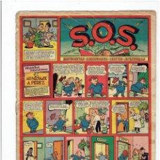 Tebeos: ARCHIVO * S.O.S. * VALENCIANA 1951 Nº 8 * HISTORIETAS, CHISTES, AVENTURAS *. Lote 266257548