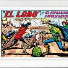 Tebeos: ARCHIVO * EL ESPADACHIN ENMASCARADO * Nº 20 / 2ª EDICION. * ED. VALENCIANA 1981 *. Lote 266261703