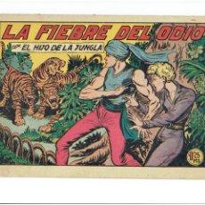 Tebeos: ARCHIVO * HIJO DE LA JUNGLA Nº 6 * ORIGINAL EDI. VALENCIANA 1956 *. Lote 266271978