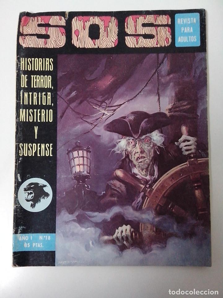 COMIC SOS AÑO I Nº 18 (Tebeos y Comics - Valenciana - S.O.S)