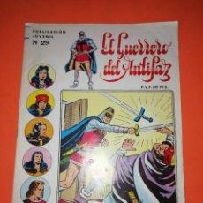 Tebeos: EL GUERRERO DEL ANTIFAZ. Nº 29. EDITVAL S.A. 1973. Lote 267569289