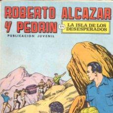 Tebeos: ROBERTO ALCAZAR (N 64) PORTADAS Y OJAS CORTADAS. Lote 268600344