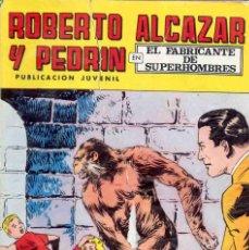 Tebeos: ROBERTO ALCAZAR (N 123) PORTADAS DAÑADAS. Lote 268602114