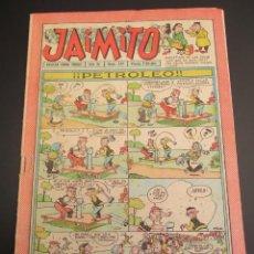 Tebeos: JAIMITO (1945, VALENCIANA) 377 · 29-XII-1956 · JAIMITO. Lote 268871129