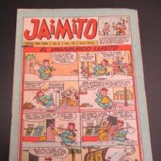 Tebeos: JAIMITO (1945, VALENCIANA) 376 · 22-XII-1956 · JAIMITO. Lote 268872159