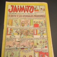 Tebeos: JAIMITO (1945, VALENCIANA) 374 · 8-XII-1956 · JAIMITO. Lote 268872799