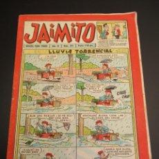 Tebeos: JAIMITO (1945, VALENCIANA) 371 · 17-XI-1956 · JAIMITO. Lote 268876564