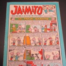 Tebeos: JAIMITO (1945, VALENCIANA) 359 · 25-VIII-1956 · JAIMITO. Lote 268879749