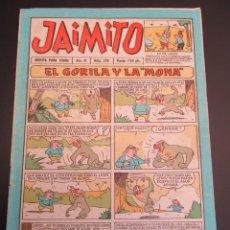Tebeos: JAIMITO (1945, VALENCIANA) 350 · 23-VI-1956 · JAIMITO. Lote 268894524