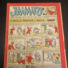 Tebeos: JAIMITO (1945, VALENCIANA) 345 · 19-V-1956 · JAIMITO. Lote 268894724