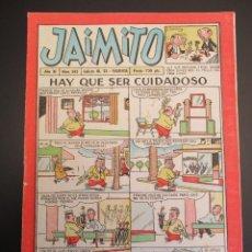 Tebeos: JAIMITO (1945, VALENCIANA) 343 · 5-V-1956 · JAIMITO. Lote 268894874