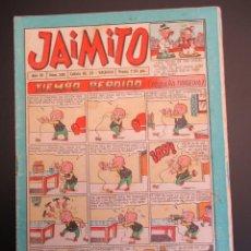 Tebeos: JAIMITO (1945, VALENCIANA) 340 · 14-IV-1956 · JAIMITO. Lote 268895044